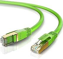HiiPeak 2PK LANケーブル CAT8 カテゴリー8 超高速 40Gbps 2000MHz イーサネットケーブル RJ45コネクタ 金メッキ SFTP 26AWG ツメ折れ防止 ルーター、プリンター、PS4、PC、Mac、XBoxに対応