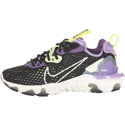 Nike Women's Race Running Shoe, Black Sail Dk Smoke Grey Gravity Purple, 7.5 us