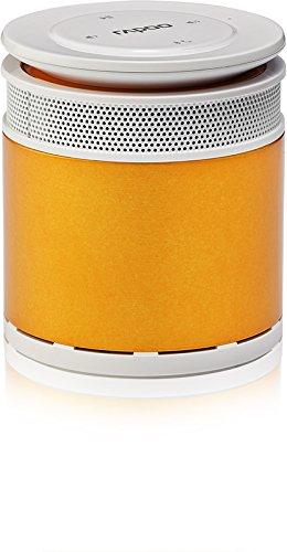 Rapoo A3060 Bluetooth Mini Lautsprecher (Freisprechfunktion, intelligente Sprachausgabe) orange