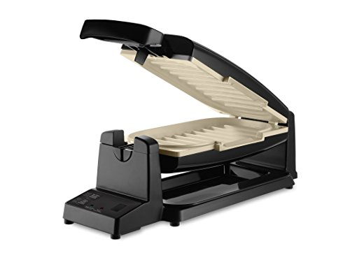 Oster CKSTCG21KT-033 7-Minute Grill with DuraCeramic Coating, Black