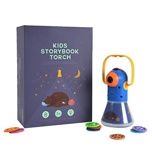 MZYKA Regalo del Día Infantil, Proyector de Historia Multifuncional, Luz Dormir Starry Sky, Luz de Noche de Juguete Bebé