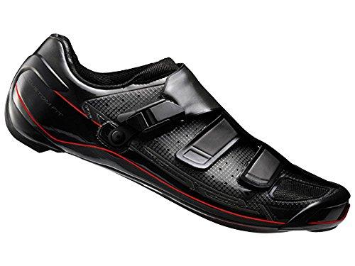 scarpe bici da corsa shimano Shimano adulti Bicicletta Scarpe per bici da corsa scarpe SH-r321W GR. 39SL SPD Velcro/Ratschenv. CF