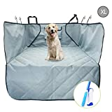 Trunk Cargo Liner Covers for Dogs, Quilted Waterproof Oxford Pet Cargo Seat Cover/ Car Floor Mat, Machine Washable & Nonslip Backing with Flaps Protection, Universal Fit for All Vehicles (X-Large)