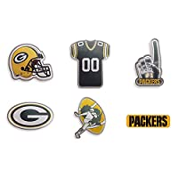 Forever Collectibles Green Bay Packers 6 Piece Pin Badge Set Anstecker NFL