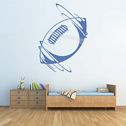Rugby Ball Sport Wandaufkleber American Football Home Interior Sport Wandbilder Dekorative sport zimmer Junge zimmer Kunst tapete 42 * 58 CM