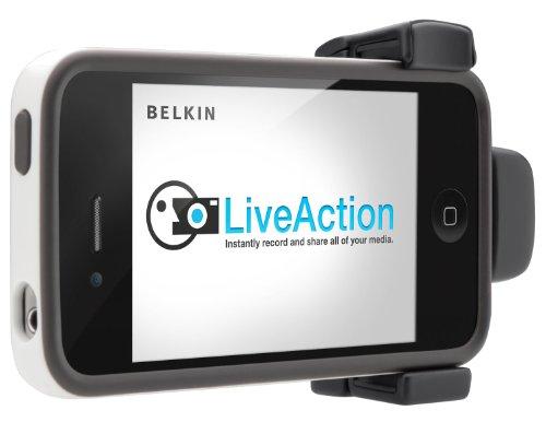 Belkin LiveAction Kamera Grip für Apple iPhone 4/4S