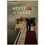 danyangshop Druck Auf Leinwand House of Cards Amerikanische