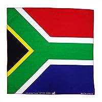 コットン100%大判ハンカチ バンダナ(国旗) (南アフリカ)