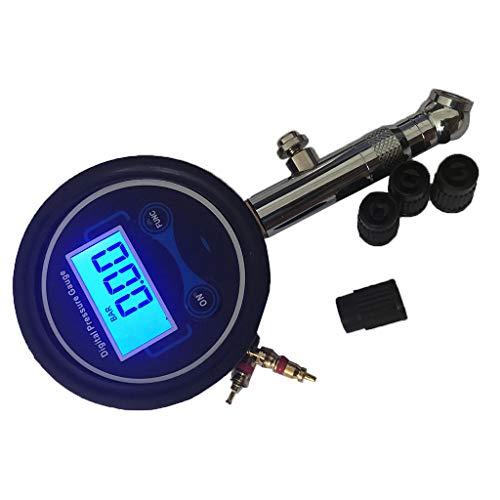 Joyfulstore- Car Motorcycle 3-200 Psi Dial Wheel Tire Tyre Gauge Pressure Measure Tester