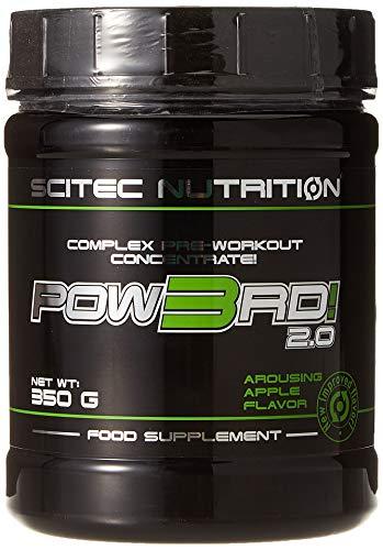 Scitec Nutrition Pow3Rd 2.0, 350 grammi, Mela Elettrizzante