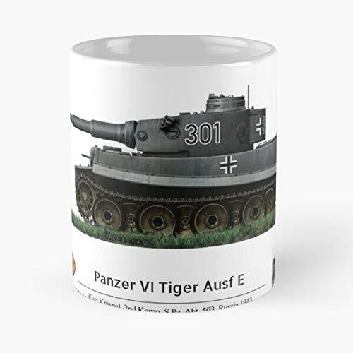 Awesomdeals Russia Kurt Tiger 1943 Ace Knispel Panzer Best 11 oz Kaffeebecher - Nespresso Tassen Kaffee Motive