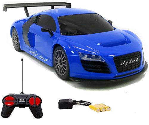 Sky Tech Plastic Remote Controlled Racing Car, Pack Of 1, Assorted Colour