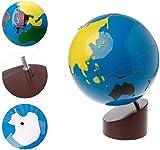 Jilibaba Geografía Equipos Globo del Mundo Piezas Bebé