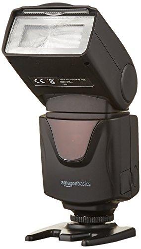 AmazonBasics Electronic Flash for DSLR Cameras (Canon, Nikon)
