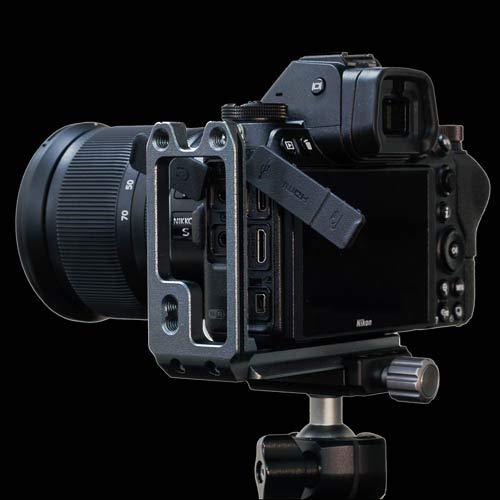Stabil LNZ L-Platte (Halterung) für Nikon Z7 / Z6 Kamera: Schwarz