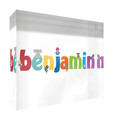 Feel Good Art Mélodie polie diamant (Benjamin, petit, 10,5 x 7,4 x 2 cm)