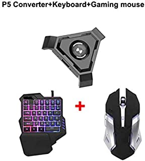 RONSHIN Consumer Electronics PUBG Mobile Gamepad Controller Gaming Keyboard Mouse Converter for Android Phone to PC Blueto...