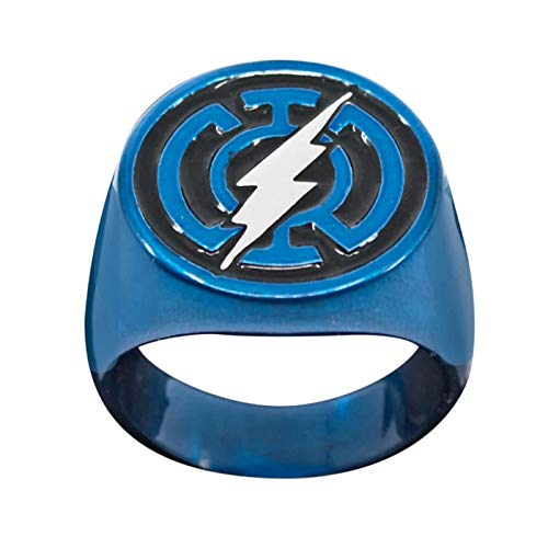 BodyVibe Flash Blue Lantern Power Ring Größe 10