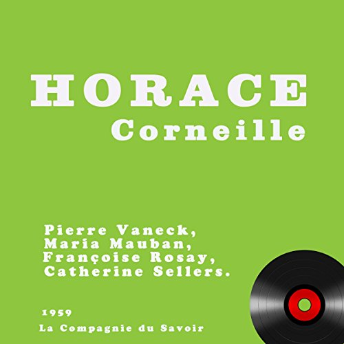 Horace audiobook cover art