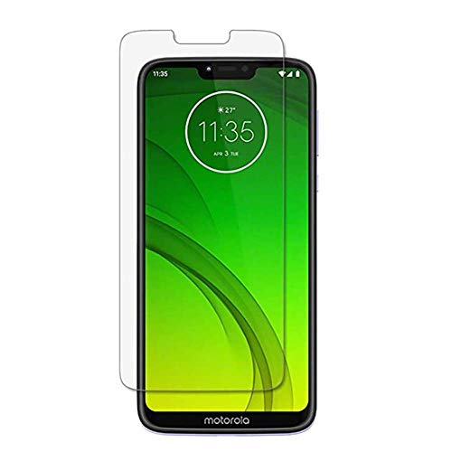 for Motorola Moto G7 Power Screen Protector, [2PACK] High Clear Scratch Resistant Screen Tempered Glass Protective Film for Moto G7 POWER Alaska