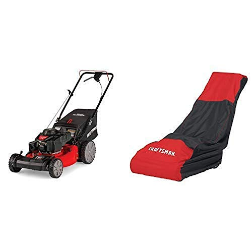 Craftsman M215 159cc 21-Inch 3-in-1 High-Wheeled FWD Self-Propelled Gas-powered Lawn Mower