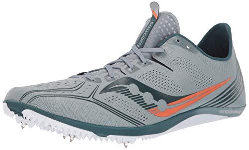 Saucony Men's Endorphin 3 Road Running Shoe, Slate, 10.5M