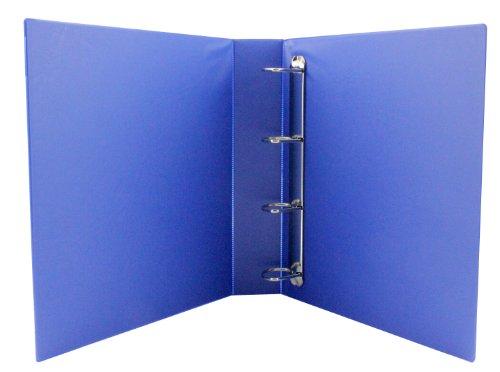 Q Connect 40mm A4 Presentation 4d-Ring Binder - Blue