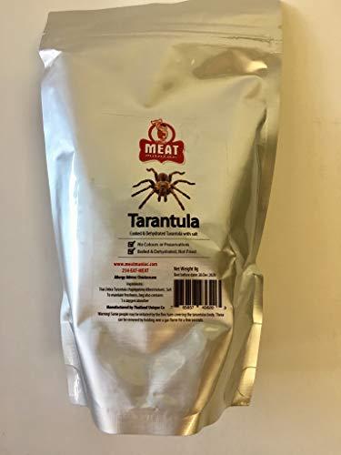 Meat Maniac Edible Insects   Salted Zebra Tarantula