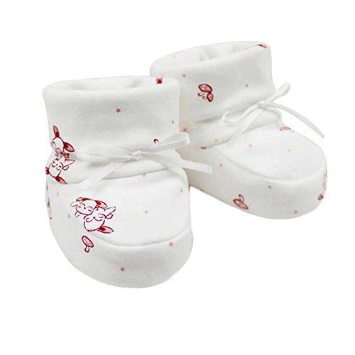 Double couche de coton souple unique petites chaussures berceau chaussures Chaussures pour bébés cha