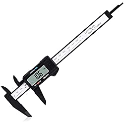 """Digital Caliper, Adoric 0-6"""" Calipers Measuring Tool - Electronic Micrometer Caliper with Large LCD Screen, Auto-Off Feature, Inch and Millimeter Conversion"""