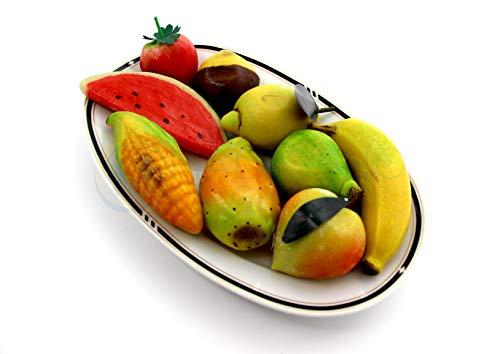 Frutta Martorana (510g di Frutti di pasta reale o marzapane) prodotta artigianalmente e lavorata a mano con sole Mandorle 100% Siciliane - Nonna Sicula - Malaseno