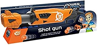BABY BOSS - POWER POPPER SHOT GUN WITH 24 FOAM BALLS - GUN SHOOT GAME