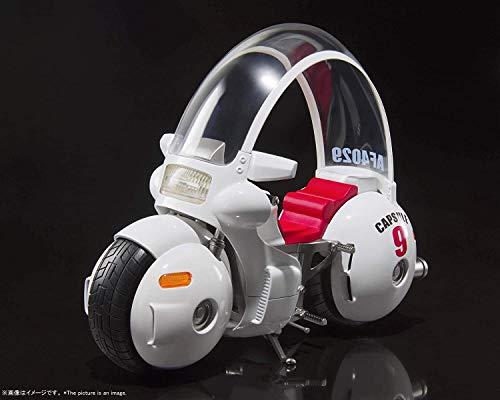 Bandai -'Figurine DBZ - Bulma Motorcycle Hoiresto Kapseln 9 Sh Figuarts 17 cm - 4573102587398, Standard, Mehrfarbig