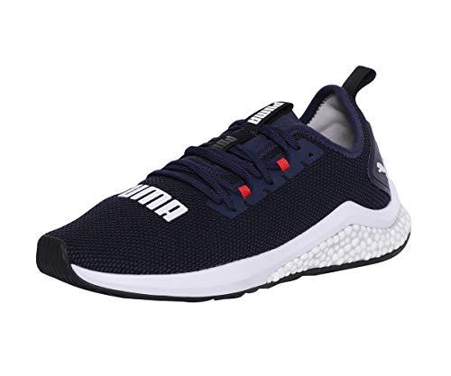 Puma Hybrid NX, Zapatillas de Running Hombre, Azul (Peacoat-High Risk Red White), 44 EU