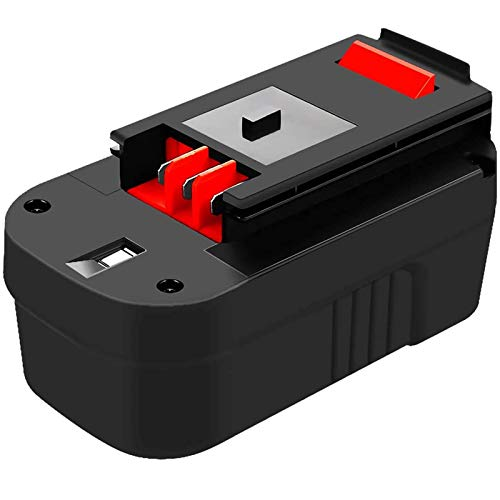 Upgraded to 3.6Ah Ni-Mh HPB18 Replacement Battery Compatible with Black and Decker 18V HPB18 244760-00 A1718 FS18FL FSB18 Firestorm Cordless Power Tools
