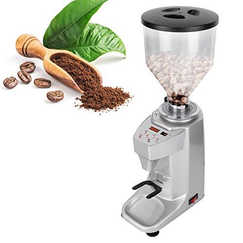 Zwindy Elektrische Kaffeemühle, EU Plug 220V Kaffeemühle, für gewerbliche Haushalte