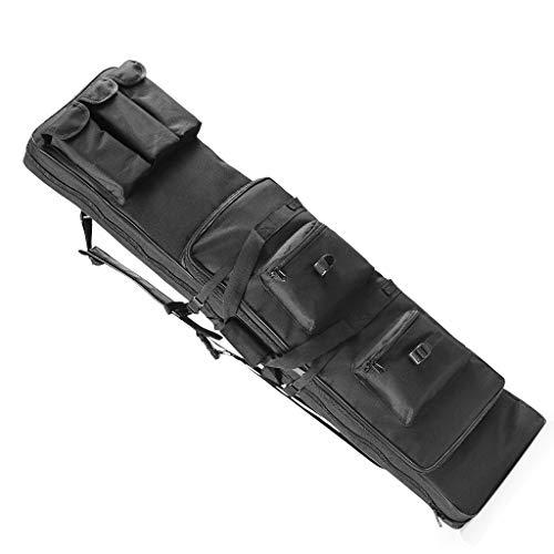 TBDLG Fusil Sac, Longue Carry Sac à Dos Tactique Pistolet Fourreau Molle Fusil Sling Case Sac pour Chasse Airsoft,120CM