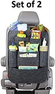SAMPLUS MALL (LABEL) Car Back Seat Multi Pocket Organizer-Multicolour
