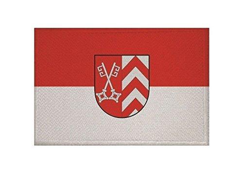 U24 Aufnäher Landkreis Minden-Lübbecke Fahne Flagge Aufbügler Patch 9 x 6 cm