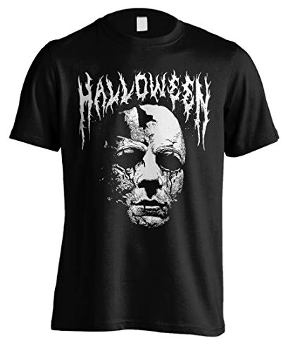 Tee Shack Halloween Michael Myers Slasher John Carpenter Oficial Camiseta para Hombre (XX-Large)