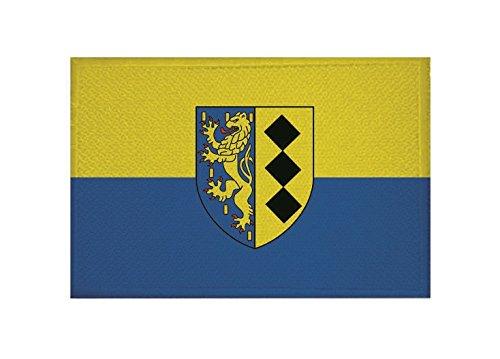 U24 Aufnäher Burbach Flagge Aufbügler Patch 9 x 6 cm