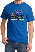 2019 2020 2021 Ford Ranger Truck Classic Cartoon Design Tshirt Medium Royal