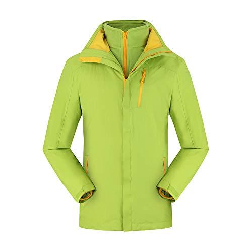 Alte Green Antistatische Jacke, Wander Camping Atmungsaktive Sportbekleidung, Damen DREI-In-Eins-Jacke,M