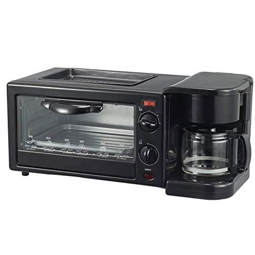 Máquina De Desayuno Multifuncional Tres En Uno Horno De Café Pan Tostado Huevo Frito Horneado A La Parrilla Adecuado para Uso Doméstico