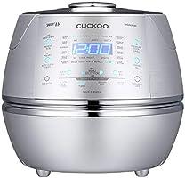 CUCKOO CRP-DHSR0609F Stoom Druk Rijst Cooker 1080ml 6 kopjes   IH Inductie Verwarmings Technologie   Programmeerbaar  ...
