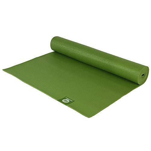 Lotus Design Yogamatte ECO-PVC Trend, rutschfest, für Anfänger und Fortgeschrittene, günstige Yogamatten für Yoga, Pilates, Sport und Gymnastik, 183x61 cm, 6 mm, leicht und waschbar