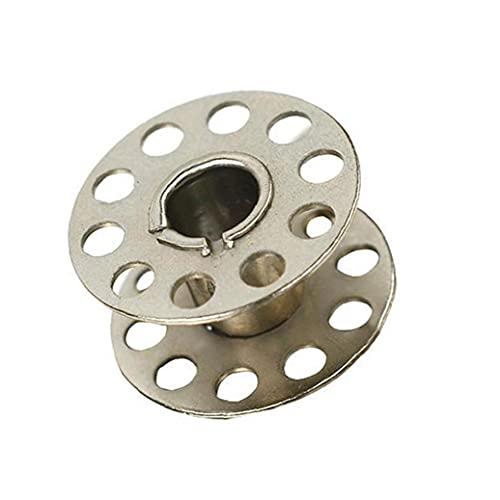 nJiaMe Máquina de Coser Industrial de bobinas Bobbin Universal Metal Machine Máquina de Coser Winder Máquinas de Bordado de Costura para Uso en el hogar