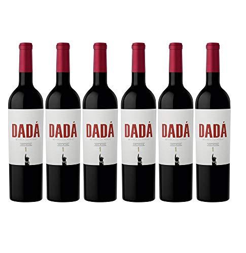 Finca Las Moras DADÁ No.1 Rotwein veganer Wein halbtrocken Argentinien (6 Flaschen)