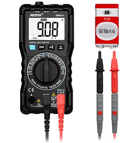 IDES Mini-multimeter digital multimeter 9999 zählt Auto Range Tester multimetre Multi Meter multitester