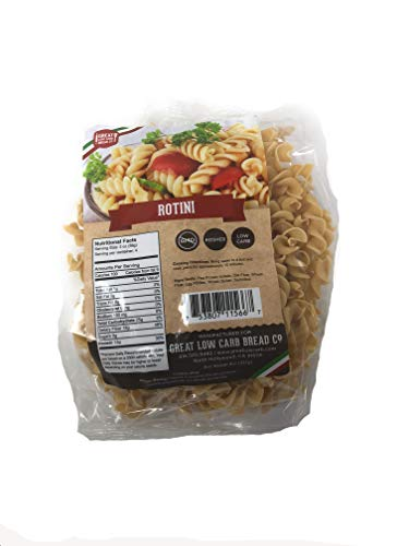 Great Low Carb Bread Co., Rotini, 8oz, Low Carb Pasta
